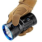 Olight® X7R Marauder aufladbar LED Taschenlampe 12000 Lumen mit 3 X Cree XHP70 CW LED - inkl. 1 x eingebaute 4 x 3000mAh 18650 Akkus - Ultra hell und kompakt - 2