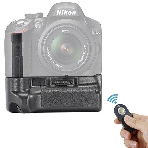 Neewer® telecomando batteria impugnatura verticale funziona con batterie EN-EL14per Nikon D3200/D3300fotocamera digitale reflex