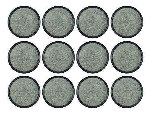 Mr. Coffee Wasserfilter Ersatz Scheiben | Aktivkohle Kaffee Filter für Herr Kaffee Maschinen & Brewers | 12Stück | reinigt Wasser über 97% von Chlor, Kalzium, Gerüche und andere Verunreinigungen -