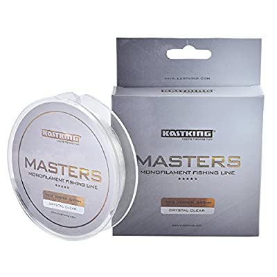 KastKing Masters Monofilament Fishing Line-Super Smooth Casting, Abrasion Resistant, and Superior Strength--Pro Series Mono Line Great for Pike Carp Coarse Sea Game Match Predator Fishing-274M/300Yds by Eposeidon