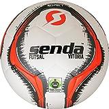 Senda Athletics - Pelota de fútbol unisex, color rojo, talla 4