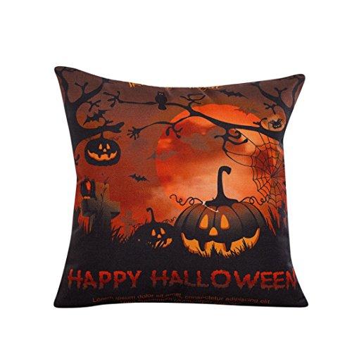 Zolimx Halloween Schlafsofa Home Decor Kopfkissenbezug Kissen Abdeckung (Römisch Halloween Paare Kostüme)