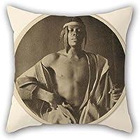 PINTURA al óleo Fred Holland día (American–un jefe etíope manta funda de almohada 20x 20pulgadas/50por 50cm mejor elección para danza en silla Interior sala sofá Niñas San Valentín con 2lados