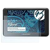 Bruni Schutzfolie für Blaupunkt TravelPilot 53 Cam EU Folie - 2 x glasklare Displayschutzfolie