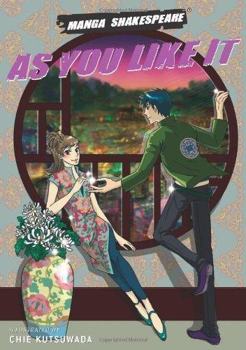 Manga Shakespeare: As You Like It by Chie Kutsuwada (2008-11-13)