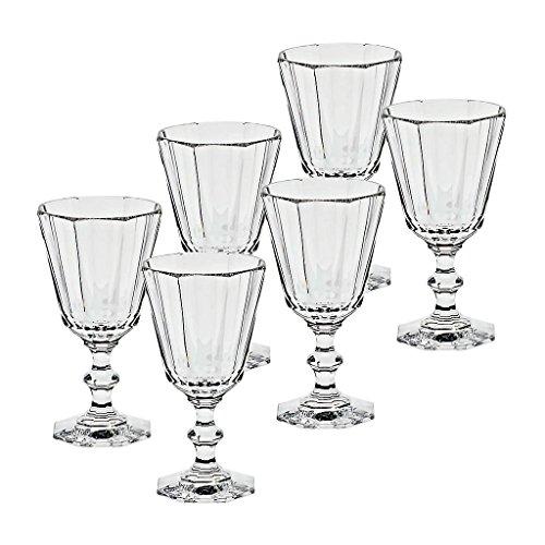 6 x Weinglas, Weinkelch, Römer ROYAL 100ml, transparent, Bleikristall, 14 cm, moderner Style...