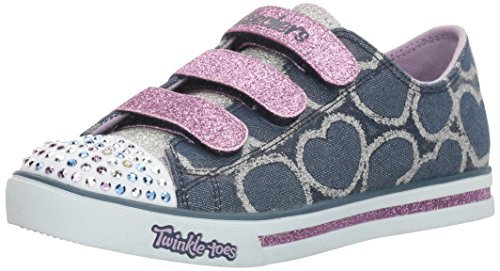 skechers-girls-sparkle-glitz-heartsy-glam-low-top-sneakers-blue-dnlv-15-uk-34-eu