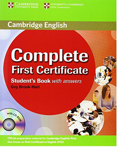 Complete First Certificate Student's Book with answers