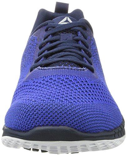 Reebok Print Run Prime Ultk, Scarpe Running Uomo Blu (Vital Blue/collegiate Navy/white/pewter)