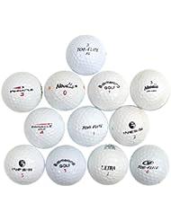 Replay Golf Mix Brands Lot de 25 balles de golf