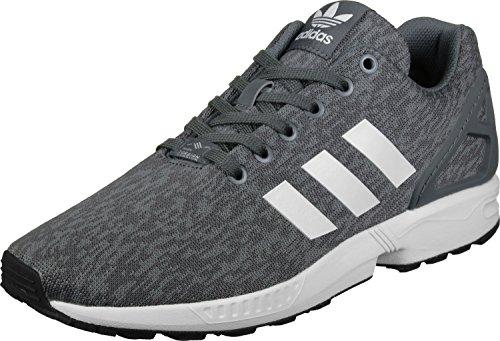 adidas ZX Flux, Chaussures de Running Homme gris blanc