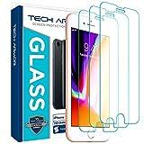 Tech Armor - Protector de Pantalla para iPhone 6/6S / iPhone 7 / iPhone 8 (4.7 Inch Only) de Apple - Cristal blindado
