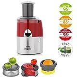 Magimix Juice Expert 3 Extracteur de jus multifonction - Rouge / Chrome