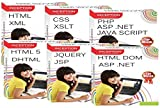 This package contains following FULL COURSES : 1. ASP.NET 2. CSS 3. PHP 4. XML 5. JAVASCRIPT 6. HTML 7. XSLT 8. HTML 5 9. DHTML 10.HTML DOM 11. JAVA SERVER PAGES 12. AJAX 13. JQUERY