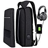 Laptop Backpack,zhi wei Backpack 17 Inch Laptop Bag with USB Charging Port Lightweight