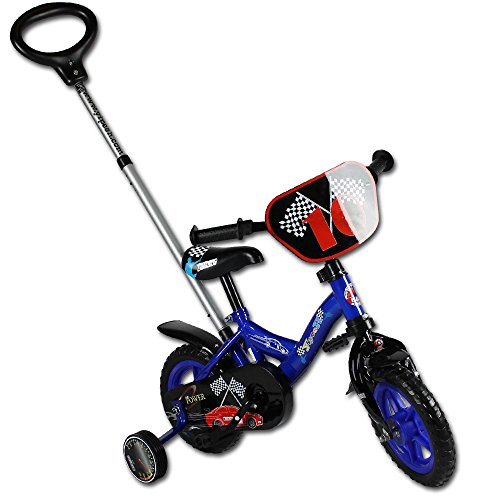 Kinderfahrrad - Fahrrad - Laufrad - 10 Zoll mit Motivauswahl (Yipeeh Power Blau)