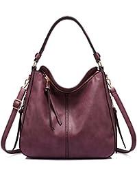 Handtaschen Damen Lederimitat Umhängetasche Designer Taschen Hobo Taschen groß Mit Quasten