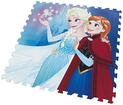 Brigamo FR8755 – Disney Frozen Die Eiskönigin Puzzle Matte, Puzzlematte aus Schaumstoff, Spielteppich, Spielmatte - 2