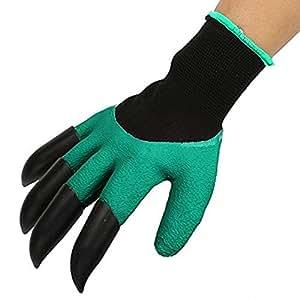 gants de jardin jardinage avec creuser griffes pour homme et pour femme bricolage. Black Bedroom Furniture Sets. Home Design Ideas