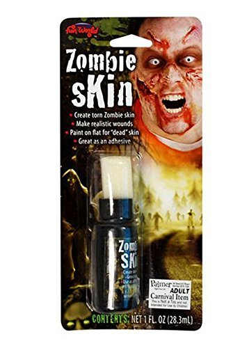 Fancy Dress Fake Zombie Skin Liquid Latex (Cher Fancy Dress Kostüme)