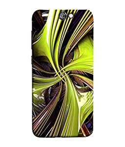 PrintVisa Designer Back Case Cover for HTC One A9 (Decoration Decorative Highlight Ornament Abstract Artistic Beautiful Colorful)