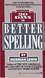20 Days to Better Spelling