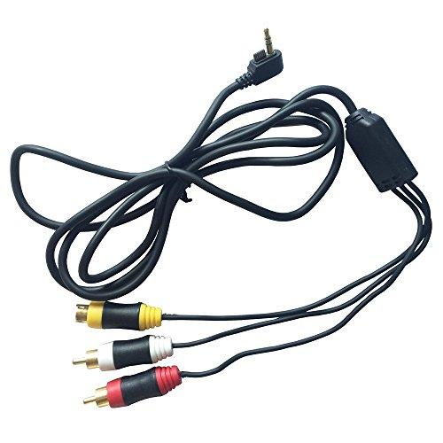 OSTENT Composite AV Audio S-Videokabel Kabel für Sony PSP 2000/3000 Konsole Videospiele