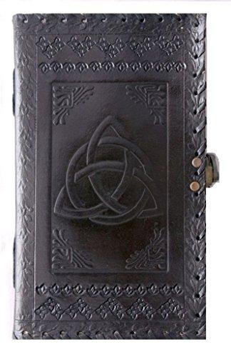 qualityart Leder Journal Notizbuch Tagebuch Skizzenbuch Travel Blank Book 22,9x 12,7cm braun
