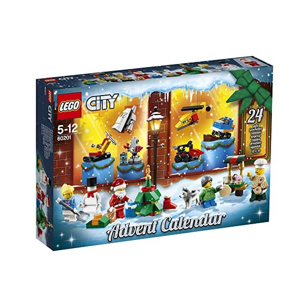 LEGO- City Calendario dell'Avvento OUS, Colore Various, 60201 2 spesavip