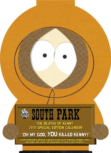 Click for larger image of South Park The Deaths of Kenny 2011 Calendar