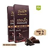 #8: Zevic Classic Chocolate with Stevia - Pack of 2 (80 gm)