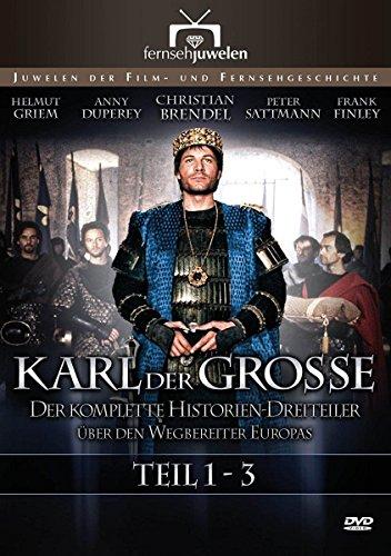 Bild von Karl der Große - Der komplette Historien-Dreiteiler (Fernsehjuwelen) [2 DVDs]