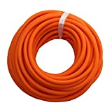 Gummizug, 10 Meter, Latexschlauch 6 mm, ID Elastica, Outdoor, Sport, Ersatz, orange