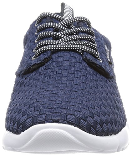 DVS APPAREL Premier 2.0, Baskets Basses Homme Bleu (Navy Weave)