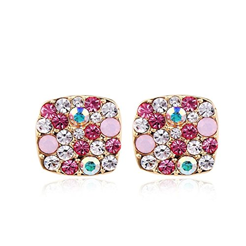 park-avenue-ohrstecker-square-multicolor-pink-made-with-swarovski-elements