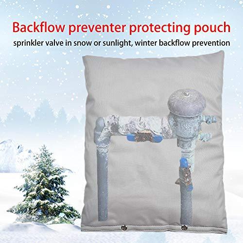 Urben Life Sacca Isolante per Tubi Protezione Invernale per Tubi, polisacco Impermeabile per scatole valvole, Strumenti o comandi per irrigatori