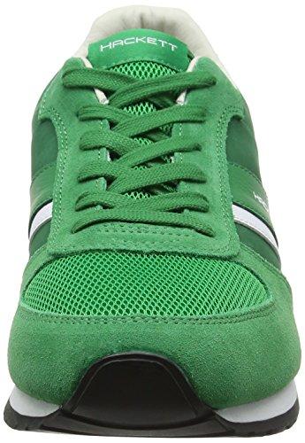 Hackett London Pembrook, Chaussures de Running Homme Vert (Green)