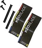 Look Kéo 2 Max Blade 12Lamellen (Kit) Pedal, Unisex Erwachsene, schwarz, Einheitsgröße