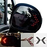 #9: 1 Pair of SMD LED Arrow Panel Lights for Car Side Mirror Turn Indicator : Red