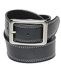Walletsnbags Casual Texas Belt (B 52_Black_34)