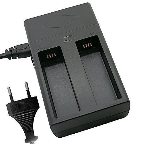 troy Dual Ladegerät für DJI Osmo Handheld 4K Camera DJI Zenmuse X3 X5 X5R HB01-522365 für Zwei Akkus