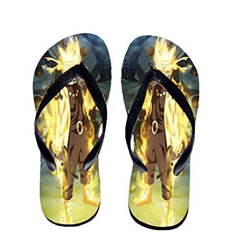 Bromeo Naruto Anime Unisexe Flip Flops Tongs 326