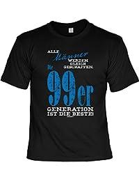 Männer... die 99er GENERATION ist die BESTE! 99er Generation 18. Geburtstag T-Shirt 18 Jahre Geschenk Idee zum 18. Geburtstagsgeschenk 1999 Geburtsjahr Shirt : )