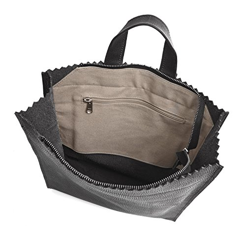MYOMY  Myomy My Paper Bag Back Bag Versandkostenfrei Bei, Sac pour femme à porter à l'épaule Taille unique Rambler Black