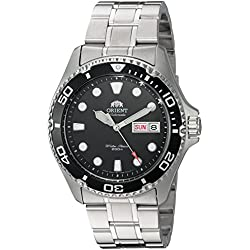 Orient Men's 'Ray II' Japanese Automatic Stainless Steel Diving Watch, Color:Silver-Toned (Model: FA002004B9)