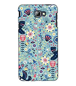 Fuson Designer Back Case Cover for Samsung On7 (2016) New Edition For 2017 :: Samsung Galaxy On 5 (2017) (Floral design pattern)