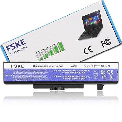 FSKE Akku für Lenovo 0A36311 L11S6Y01 L11L6Y01 L11M6Y01 L11S6F01,V380 G700 Z580 G400 Y480 G580 Z380 G500 G510 G710 N580 V480 G410 P580 P585 G405 G505 Notebook Battery, 10.8V 5000mAh 6-Zelle