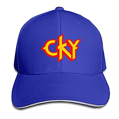 CKY Heavy Metal Band Logo Bam Margera Men Sandwich Snapback Cap