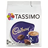 TASSIMO Cadbury Hot Chocolate Drink 8 discs, 8 servings (Pack of 5, Total 40 discs/pods, 40 servings)