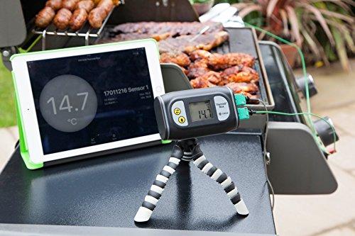 ETI thermaq blau BBQ Thermometer mit Bluetooth Le–Monitore Temperatur Ferne